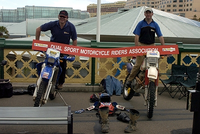 Dual Sport Motorcycle Riders Association (DSMRA) Parramatta