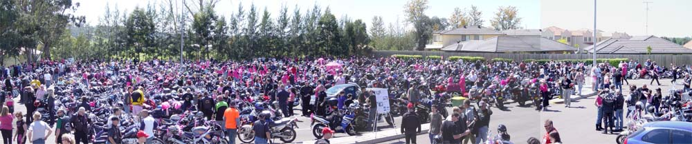 2005 Pink Ribbon Ride Photo