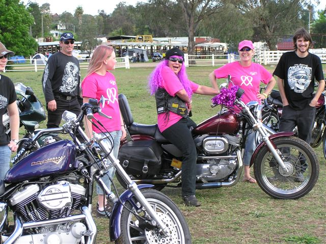 Newcastle Pink Ribbon Ride