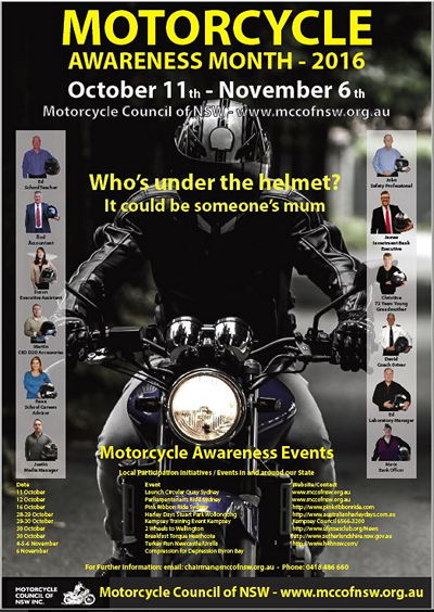 Motorcycle Awareness Month 2016