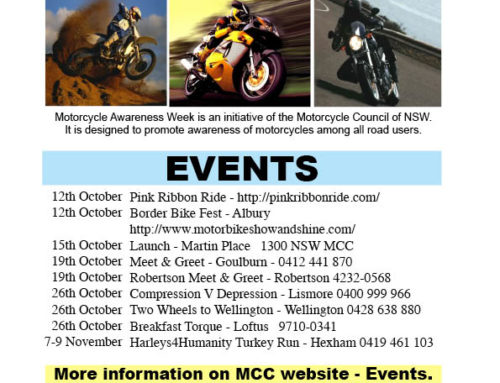 Motorcycle Awareness Week 2014