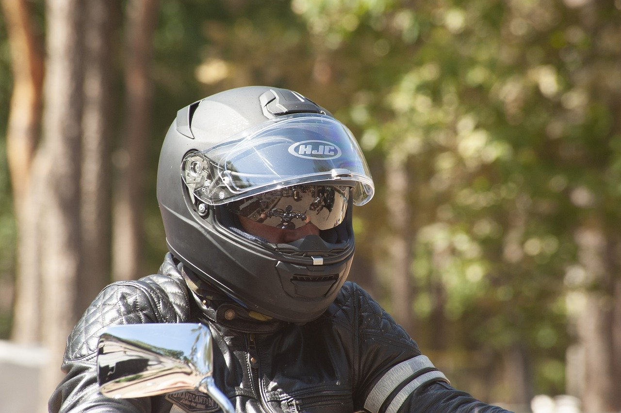 NSW motorcycle helmet compliance