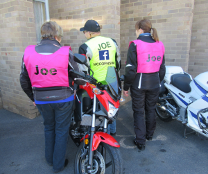 Motorcycle Awareness Month Joe Rider competition
