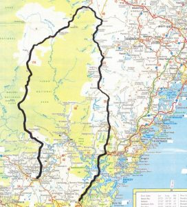 Windsor to Broke to Hornsby motorcycle road trip