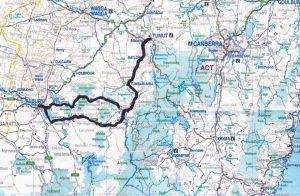 Tumut to Corryong to Albury NSW motorcycle road trip