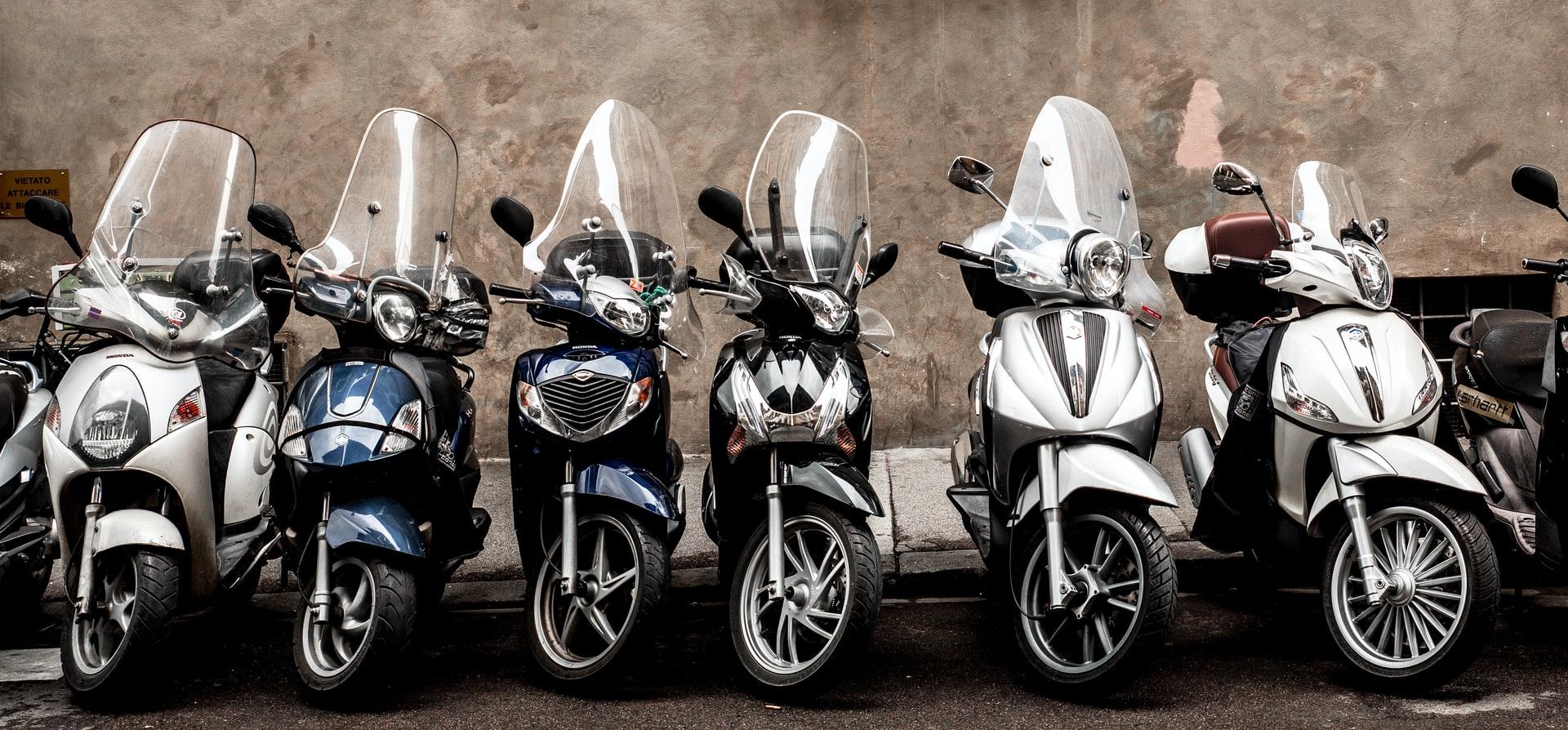 Motorcycle parking Sydney CBD
