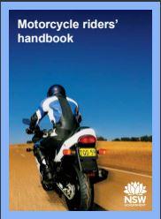 NSW motorcycle riders handbook