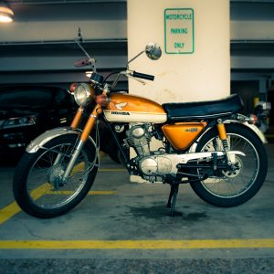 motorcycle security parking